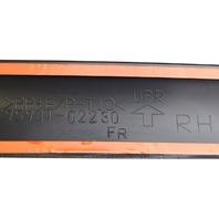 2003-2008 Toyota Corolla Right Front Door Side Moulding Trim Black 7573102230C0