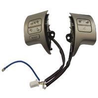 2009-2013 Toyota Corolla Matrix Steering Wheel Audio Switches Silver 8425002110