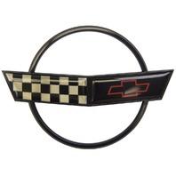 1991-1996 Chevrolet Corvette C4 Front Hood Emblem GM Licensed New Black