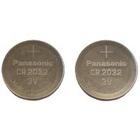 2PC Panasonic Lithium Batteries CR2032 New 3V Corvette C7 Key FOB