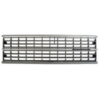 1984-86 Dodge Caravan Plymouth Voyager Grille Silver & Gray New DG07006 4270313