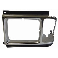 1989-1991 Ford Aerostar Left Headlight Trim Bezel Chrome FD07029HDL E99Z-13064D