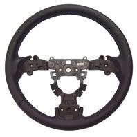 2009-2010 Mazda 6 Black Leather 3 Spoke Steering Wheel New OEM GS3P32982A