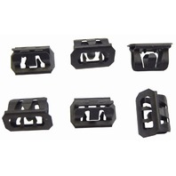 GM Metal Clips For Interior Trim Qty:6 New 25MM X 17MM X 15MM