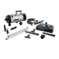 MetroVac Evolution Variable Speed Compact Canister Vac W/Electric Power Nozzle