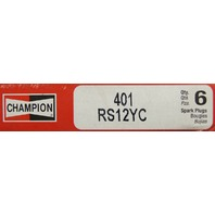 Champion Copper Plus Spark Plugs Pack of 6 New Stock No.401 RS12YC
