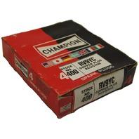 Champion Copper Plus Resistor Spark Plugs Box Of 4 New Old Stock RV9YC-400