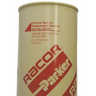 Racor Parker S3202 Water/Fuel Filter Primary Spin-On Filter Element W/Bowl New