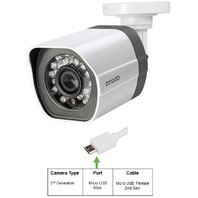 Zmodo 720p sPoE HD Outdoor IP Network Camera - 2nd Generation Micro USB Male