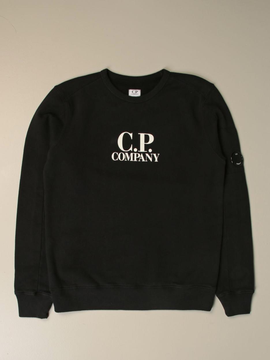 Felpa girocollo con logo C.P. Company C.P. COMPANY | Felpa | 09CKSS018A003878W999