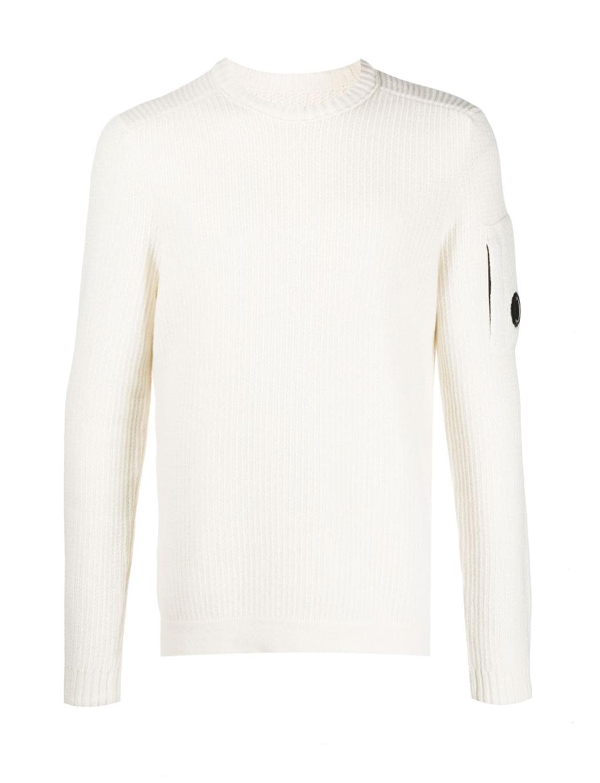 Maglione Merino Wool Fibre Mixed Lens Sweater C.P. Company C.P. COMPANY | Maglione | 09CMKN221A005292A103