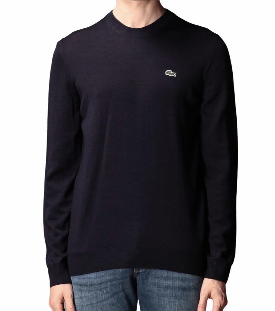 Maglione girocollo in lana rasata Lacoste LACOSTE | Maglione | AH2210HDE