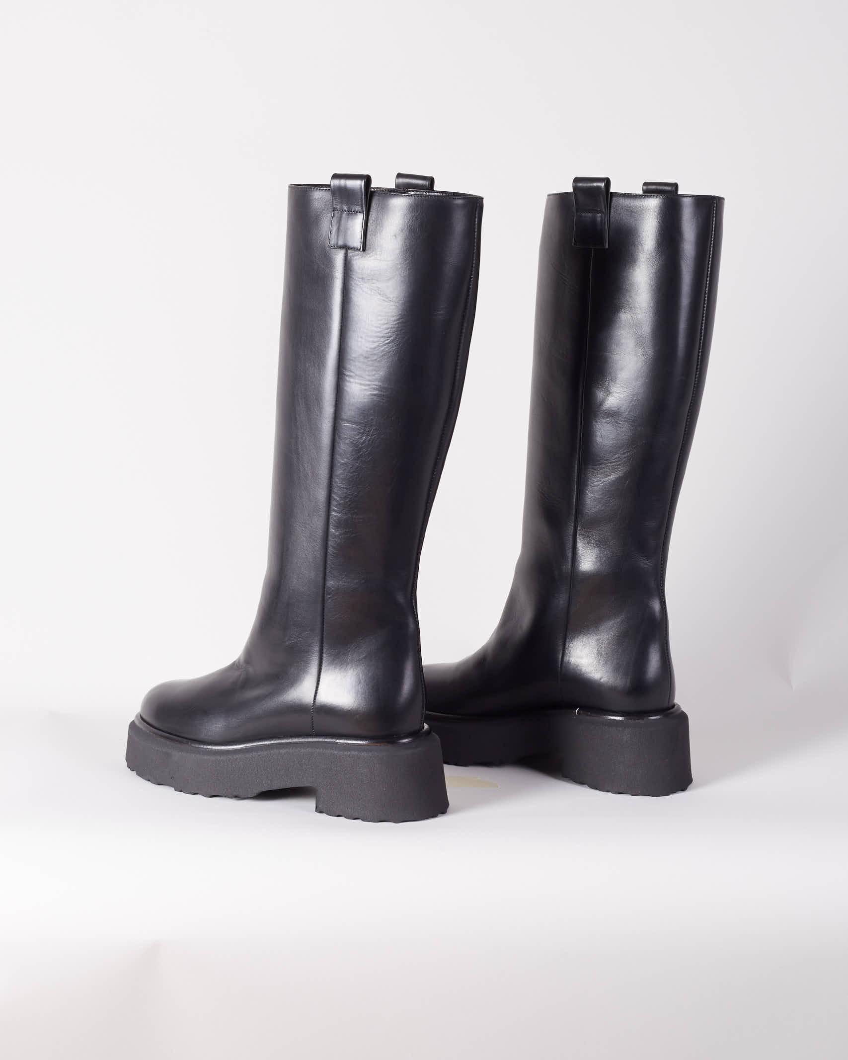 Stivale alto con suola in gomma Aldo Castagna ALDO CASTAGNA | Stivali | CLIONERO