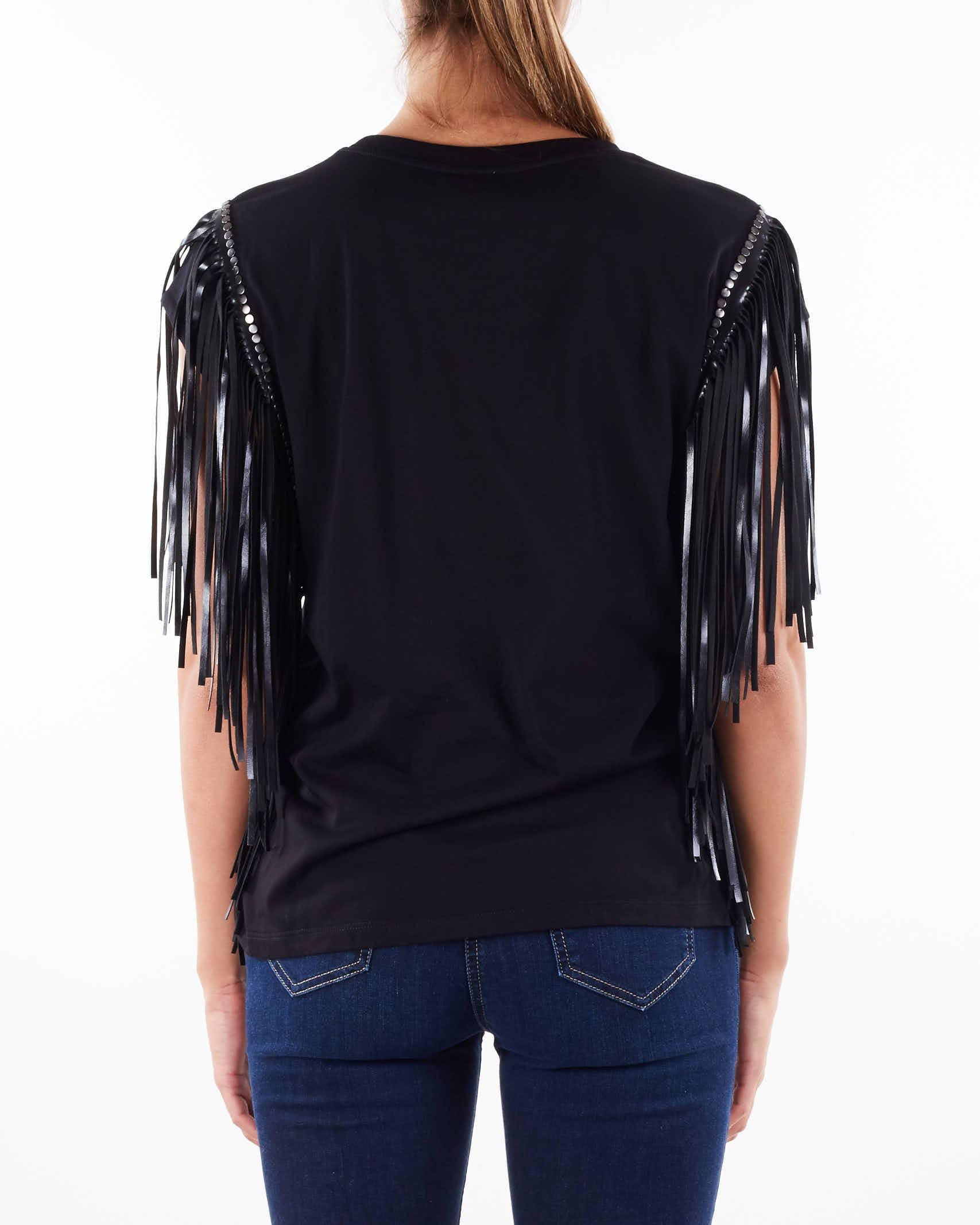 T-shirt Witch con stampa e frange Aniye By ANIYE BY   T-shirt   1812222