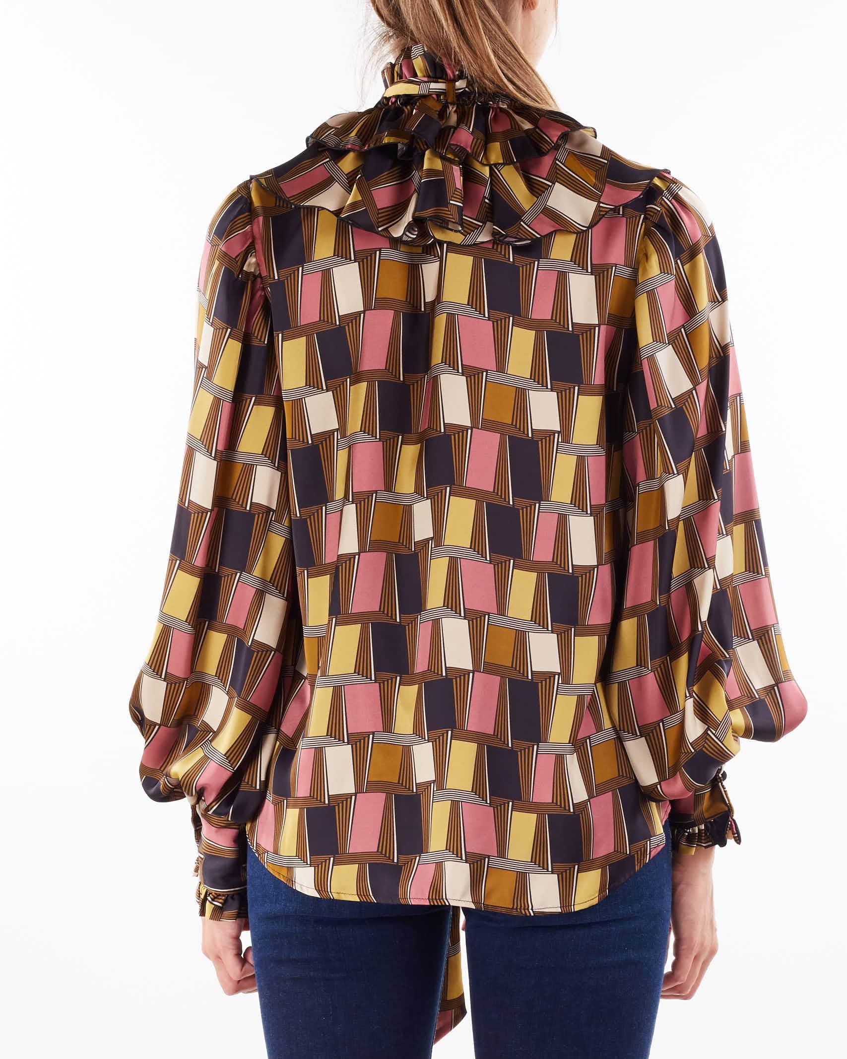 Camicia Cleo stampata Aniye By ANIYE BY   Camicia   1813102046