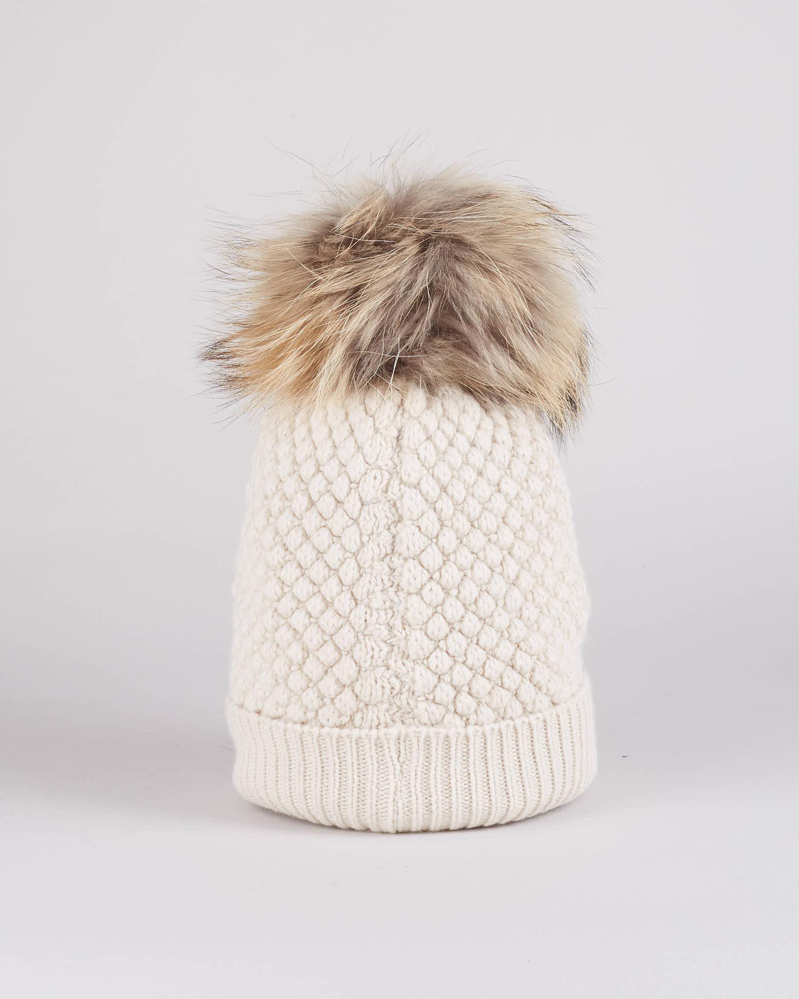 Cappello in lana con pon pon Blauer BLAUER   Cappello   BLDA05385103