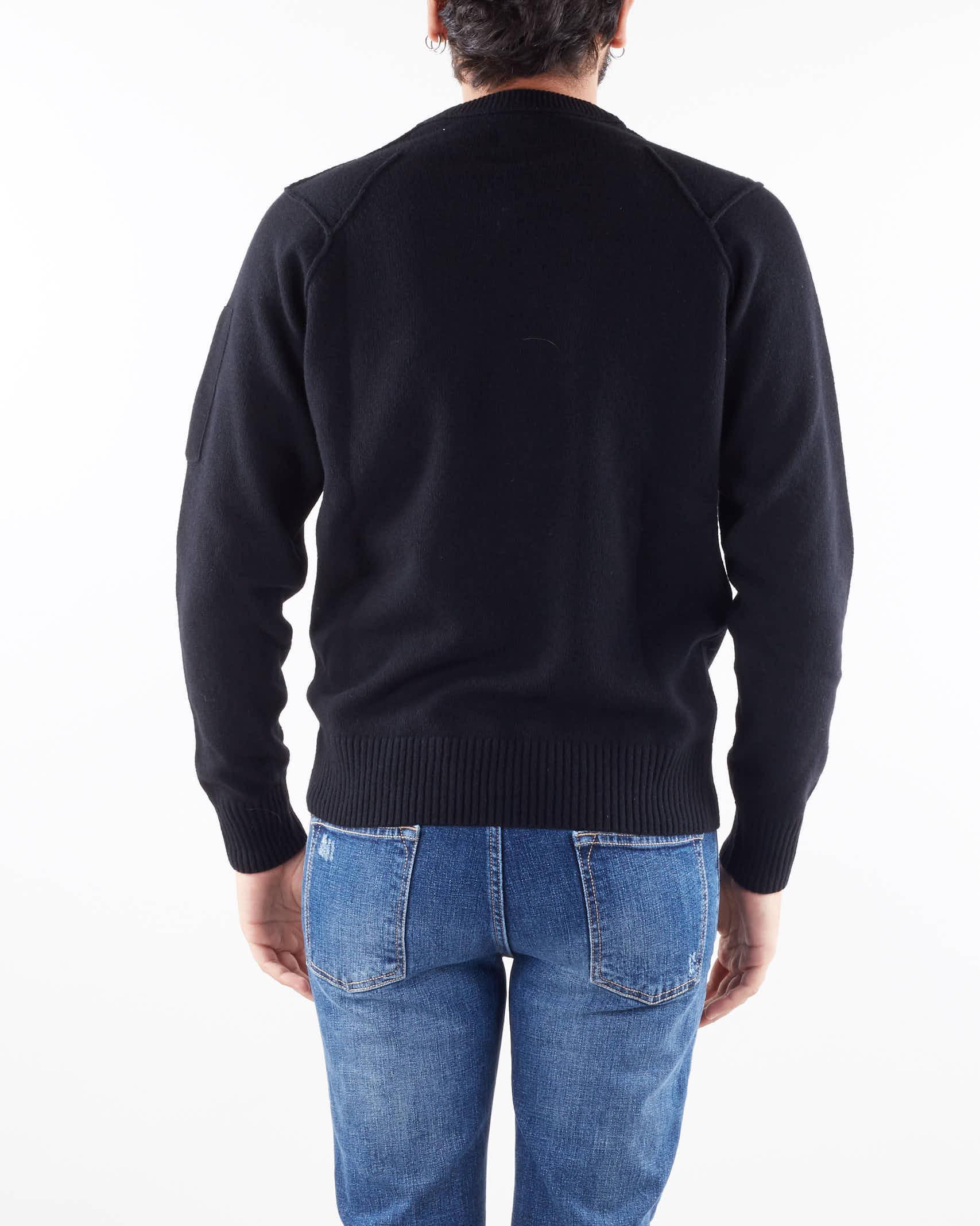 Lambswool Crew Neck Knit C.P. Company C.P. COMPANY | Maglia | 11CMKN087A005504A999