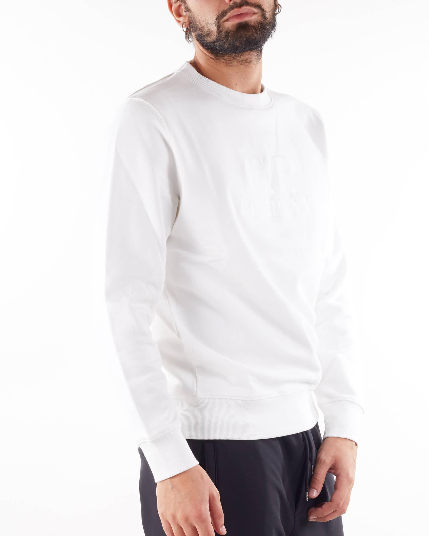 Diagonal Raised Fleece Logo Sweatshirt C.P. Company C.P. COMPANY   Felpa   11CMSS211A005086W103