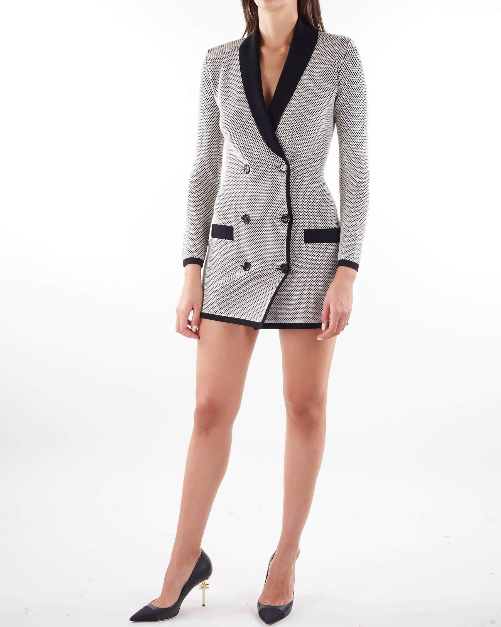 Abito Robe manteau a due colori Elisabetta Franchi ELISABETTA FRANCHI | Abito | AM56T16E2685