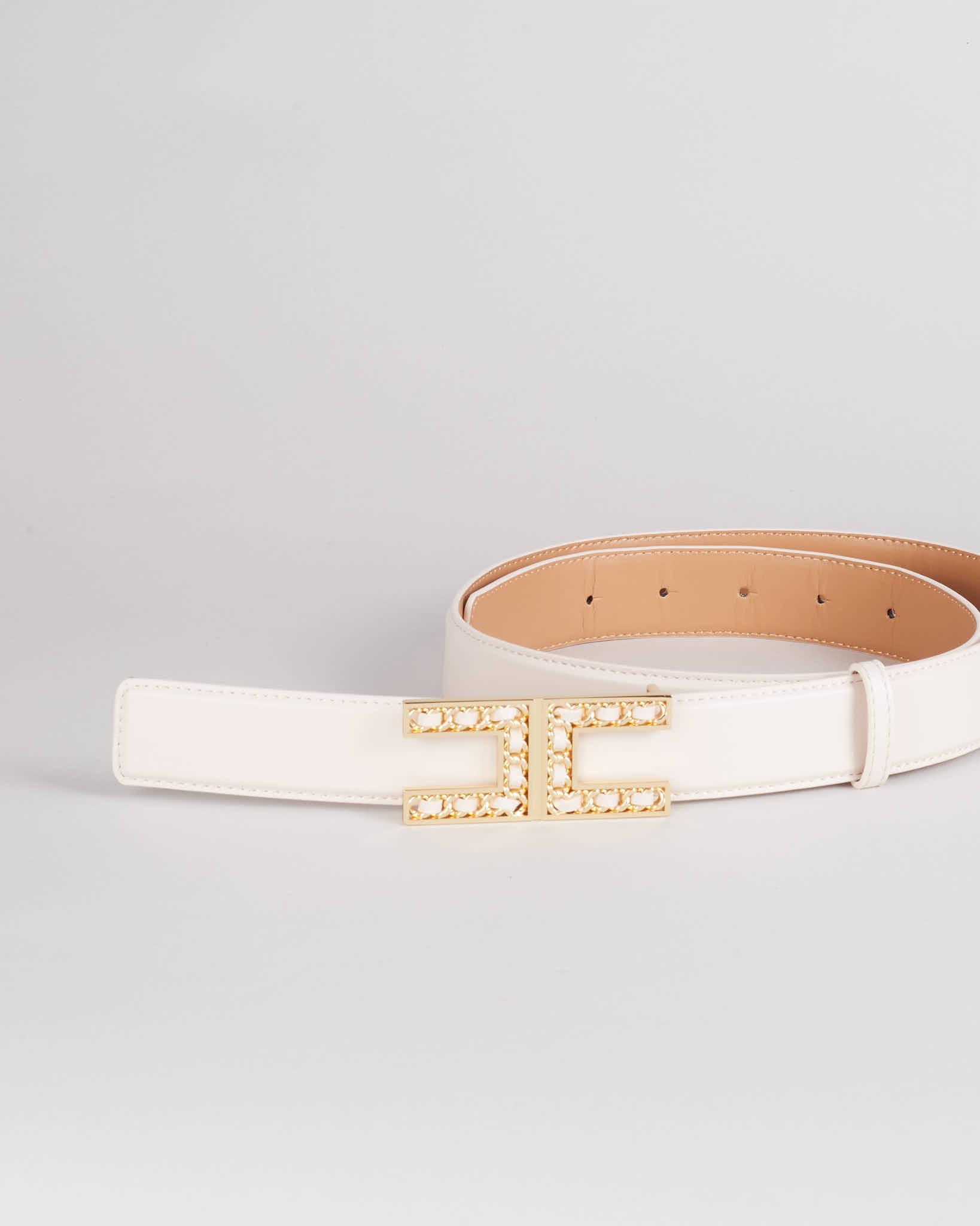 Cintura con logo Elisabetta Franchi ELISABETTA FRANCHI | Cintura | CT13S16E2193