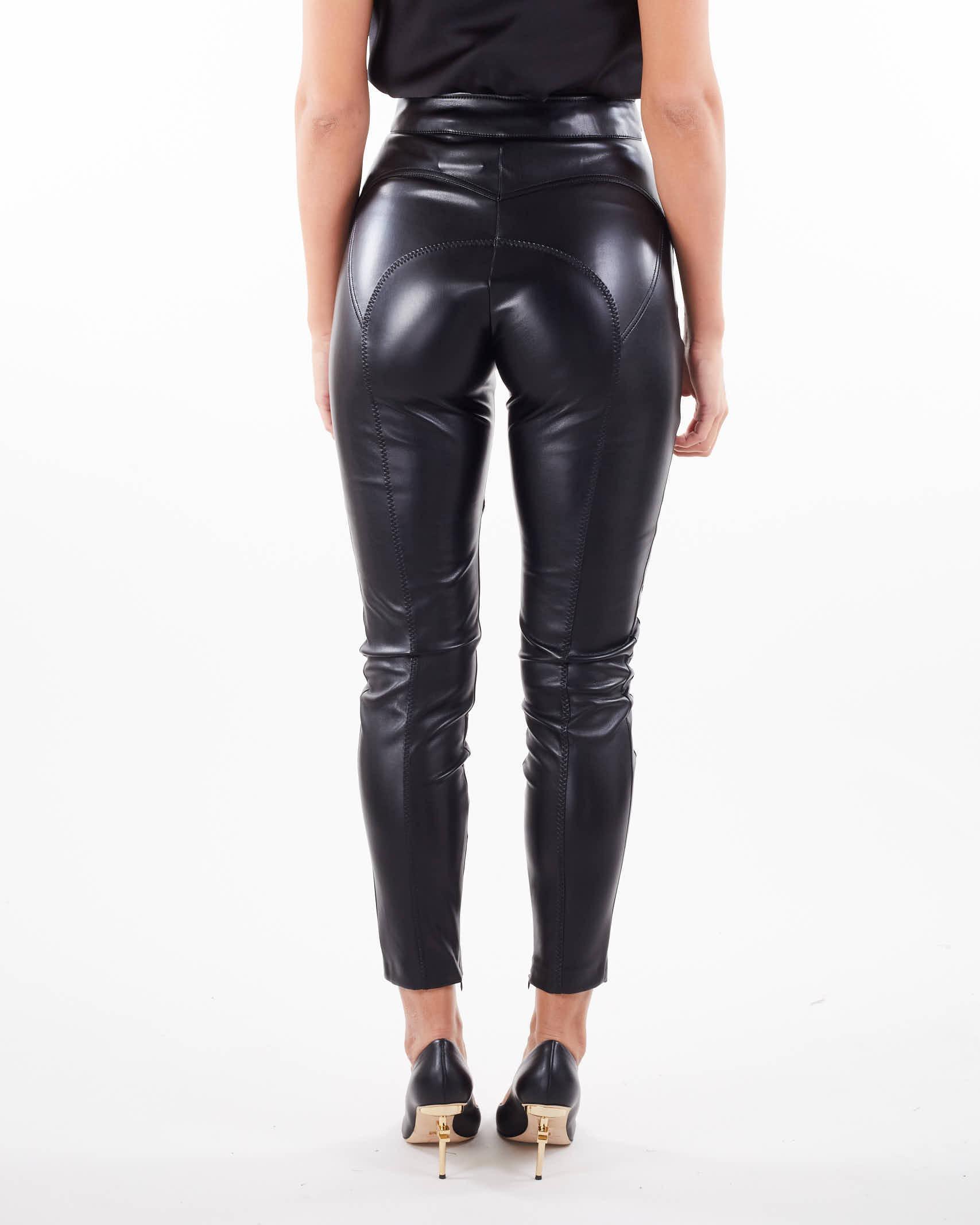 Pantalone stretch con pences Elisabetta Franchi ELISABETTA FRANCHI | Pantalone | PA39318E2110