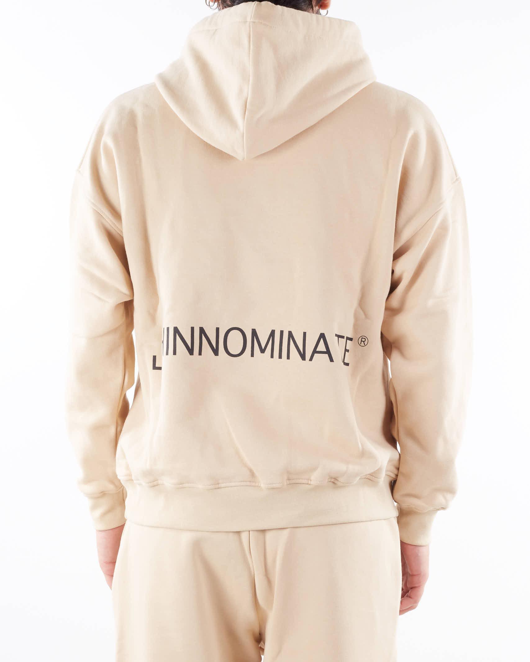 Felpa con cappuccio e logo Hinnominate HINNOMINATE | Felpa | FC18BISCOTTO