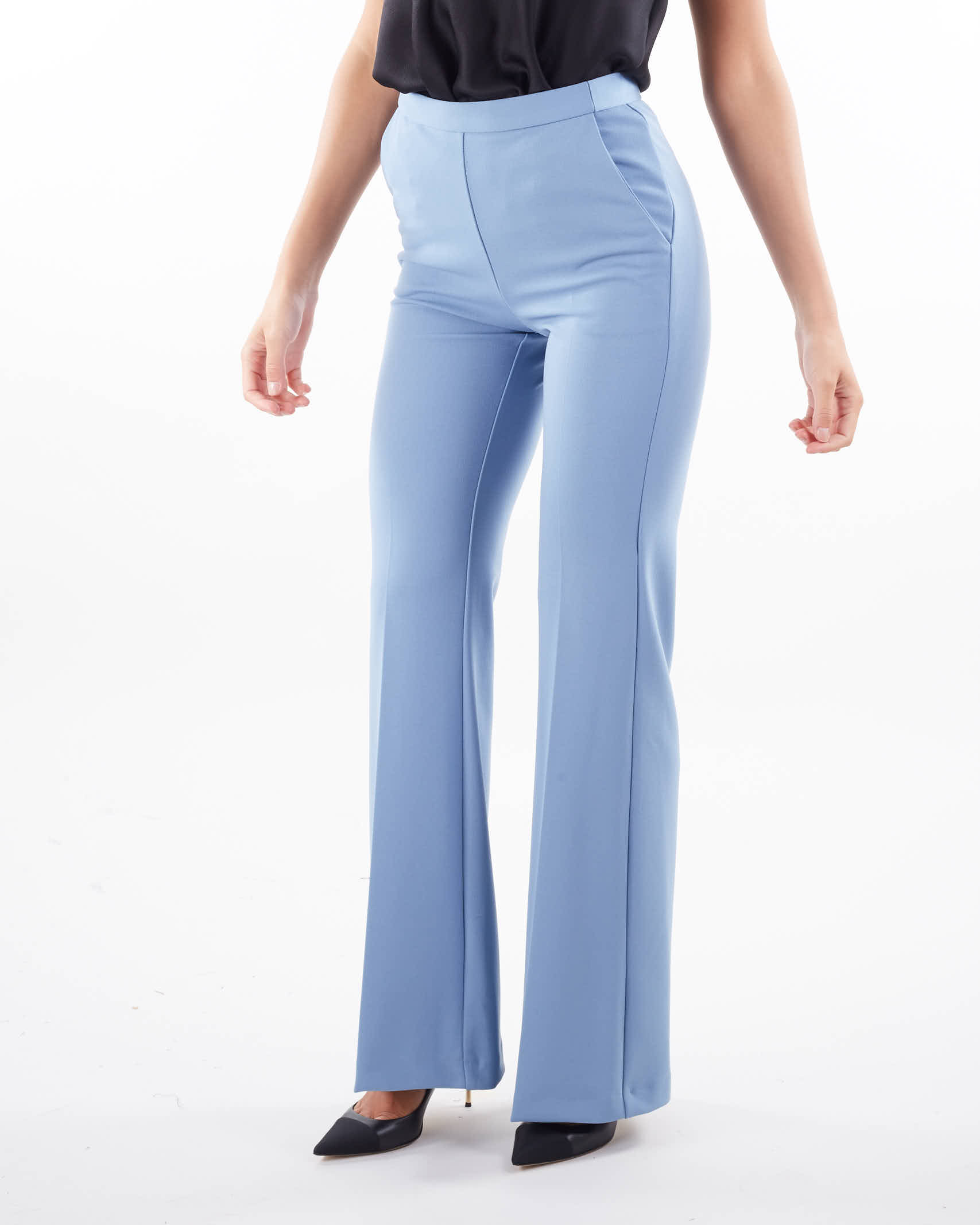 Pantalone a zampa di Imperial IMPERIAL   Pantalone   P3E9CDHPOLVERE