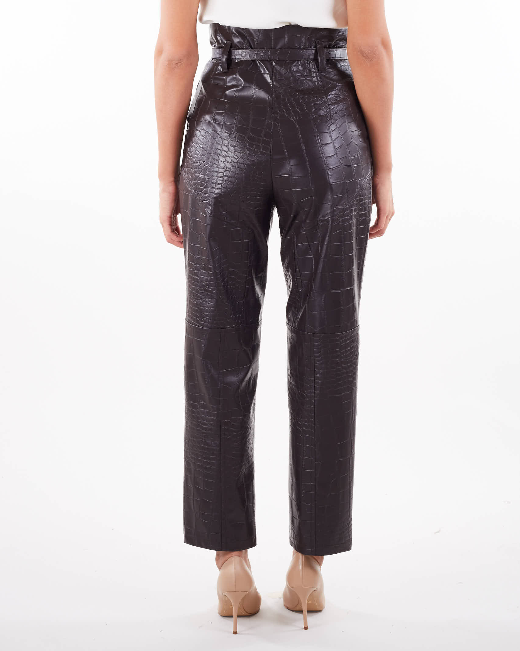 Pantalone in ecopelle Simona Corsellini SIMONA CORSELLINI   Pantalone   PA01201TEPL0007519