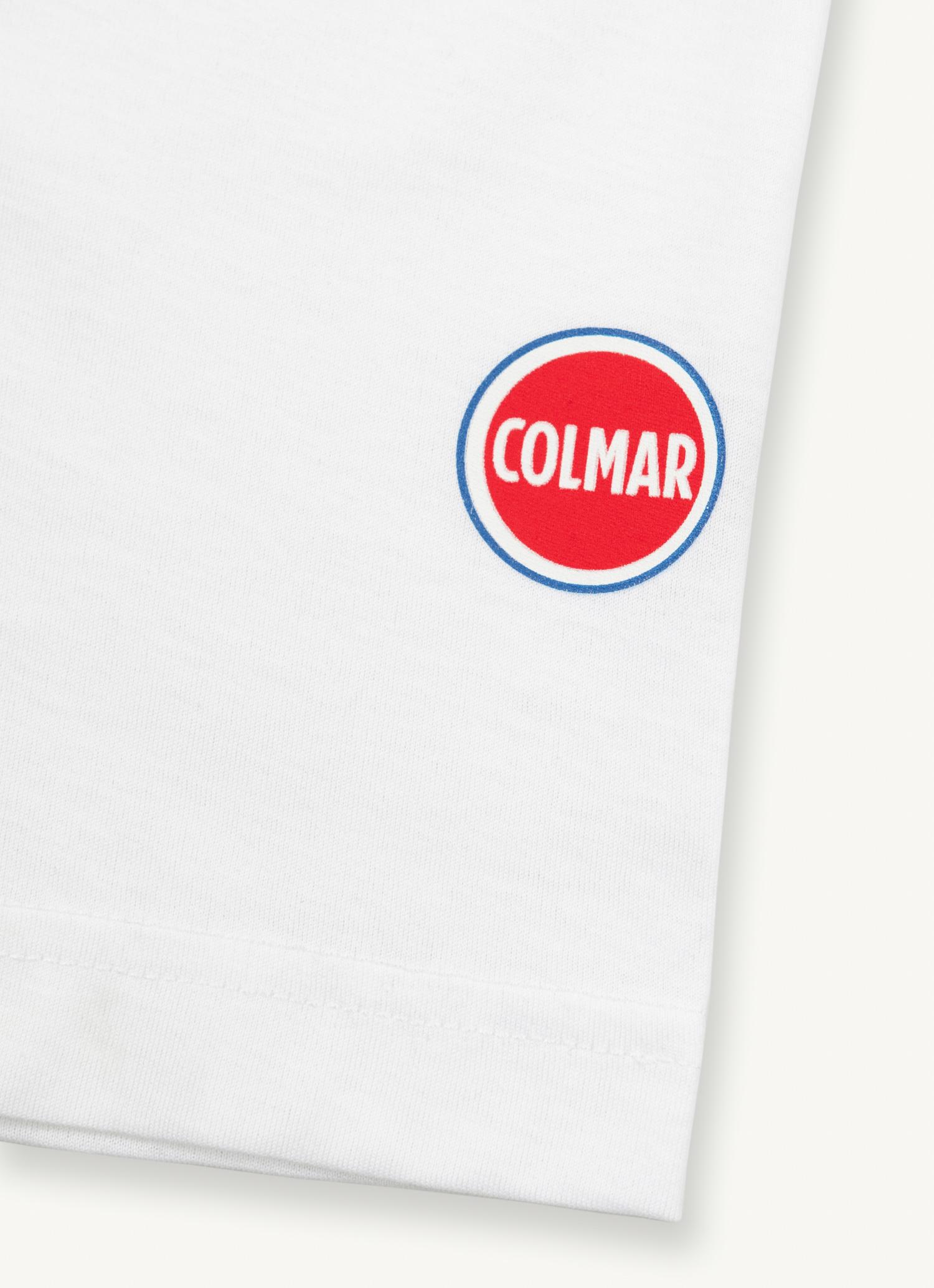 T-shirt girocollo in cotone Colmar COLMAR | T-shirt | 75206SS1