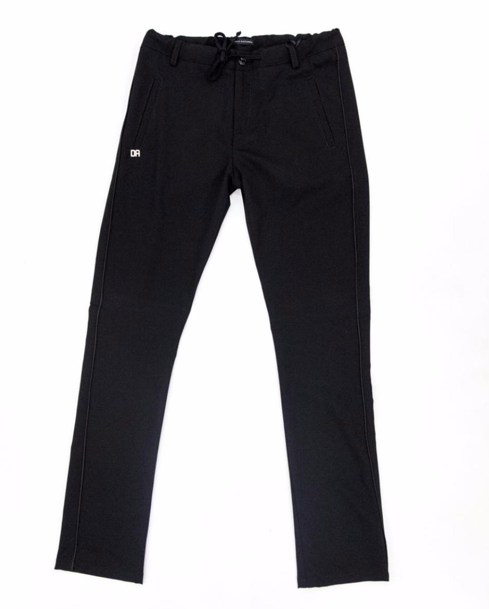 Pantalone nero daniele Alessandrini bambino DANIELE ALESSANDRINI | Pantalone | 1235P0712NERO