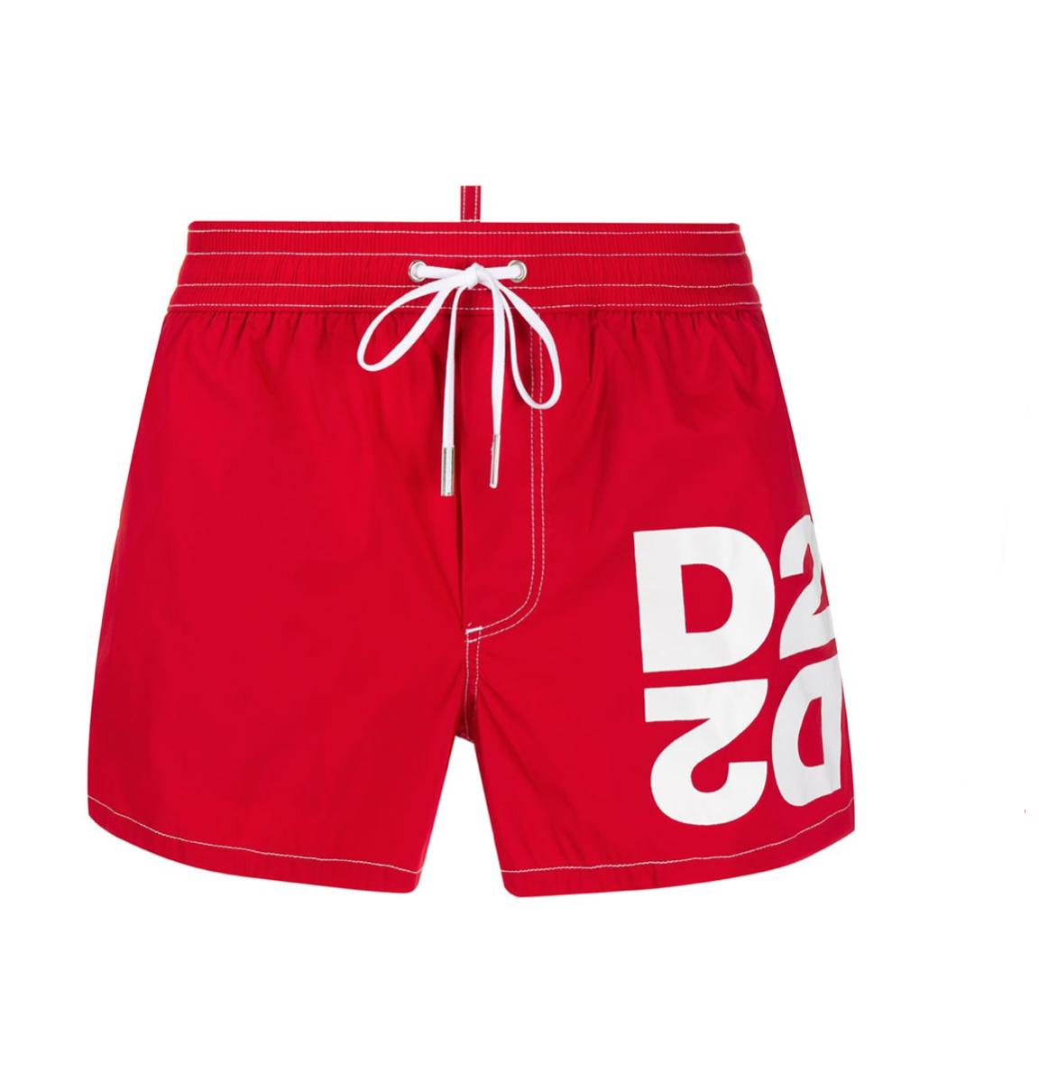 Costume Mirrored D2 Swim Shorts Dsquared2 DSQUARED   Costume   D7B8G3020613