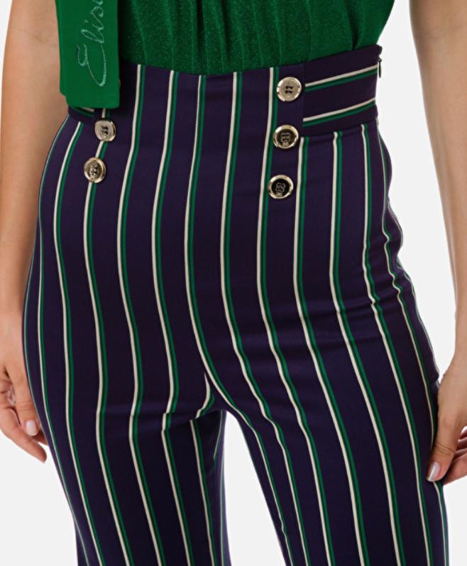 Pantalone a palazzo Elisabetta Franchi ELISABETTA FRANCHI | Pantalone | PA08101E2X30
