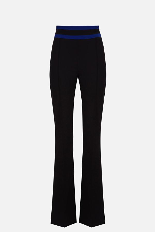 Pantalone a gamba larga Elisabetta Franchi ELISABETTA FRANCHI | Pantalone | PA32601E2Y87
