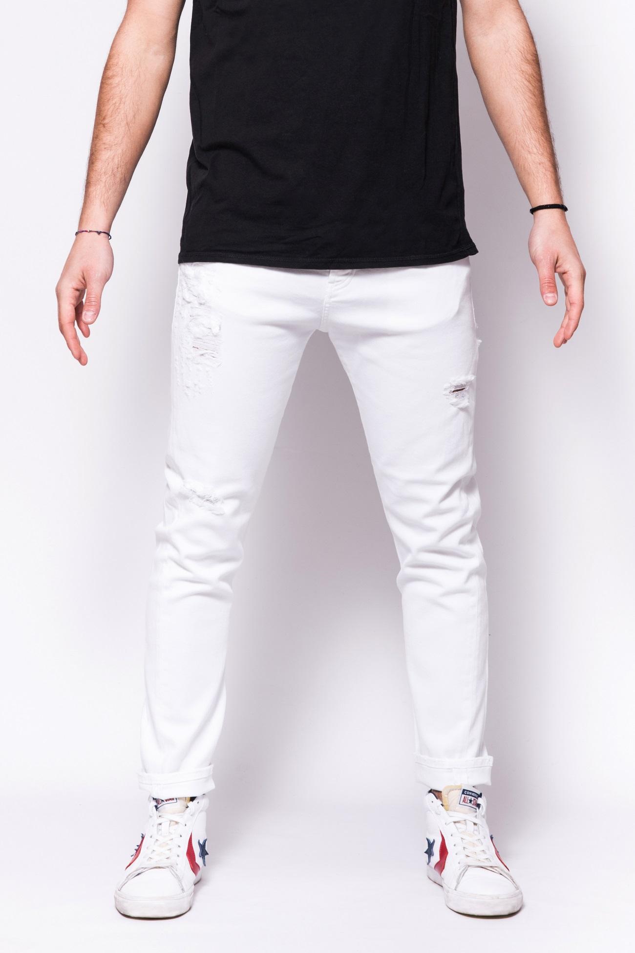 Pantalo in denim di coton bestseller Patriot PATRIOT   Jeans   PKAY880BIANCO