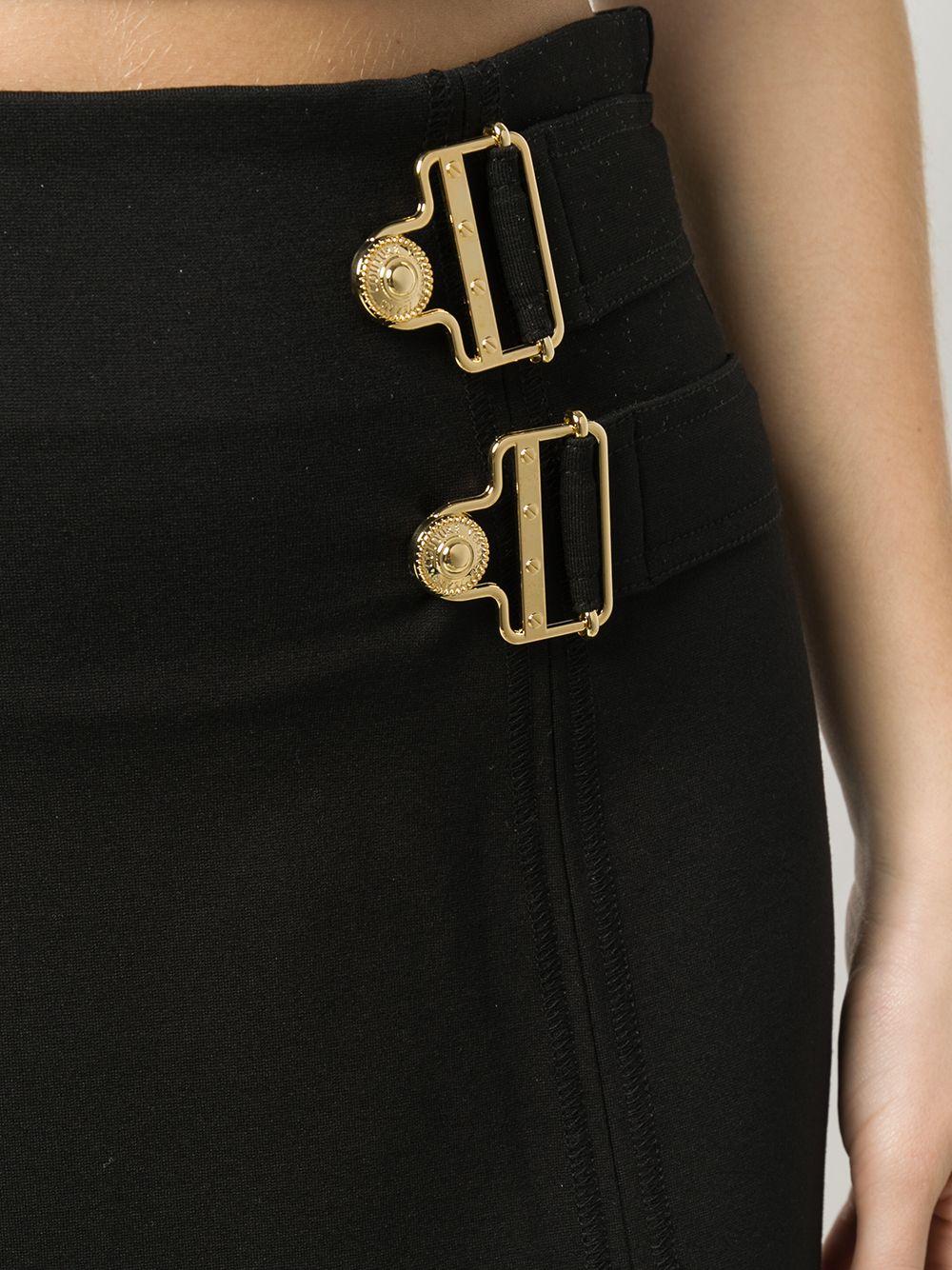 Gonna mini con fibbia Versace Jeans Couture VERSACE JEANS COUTURE | Gonna | A9HVB30311682899