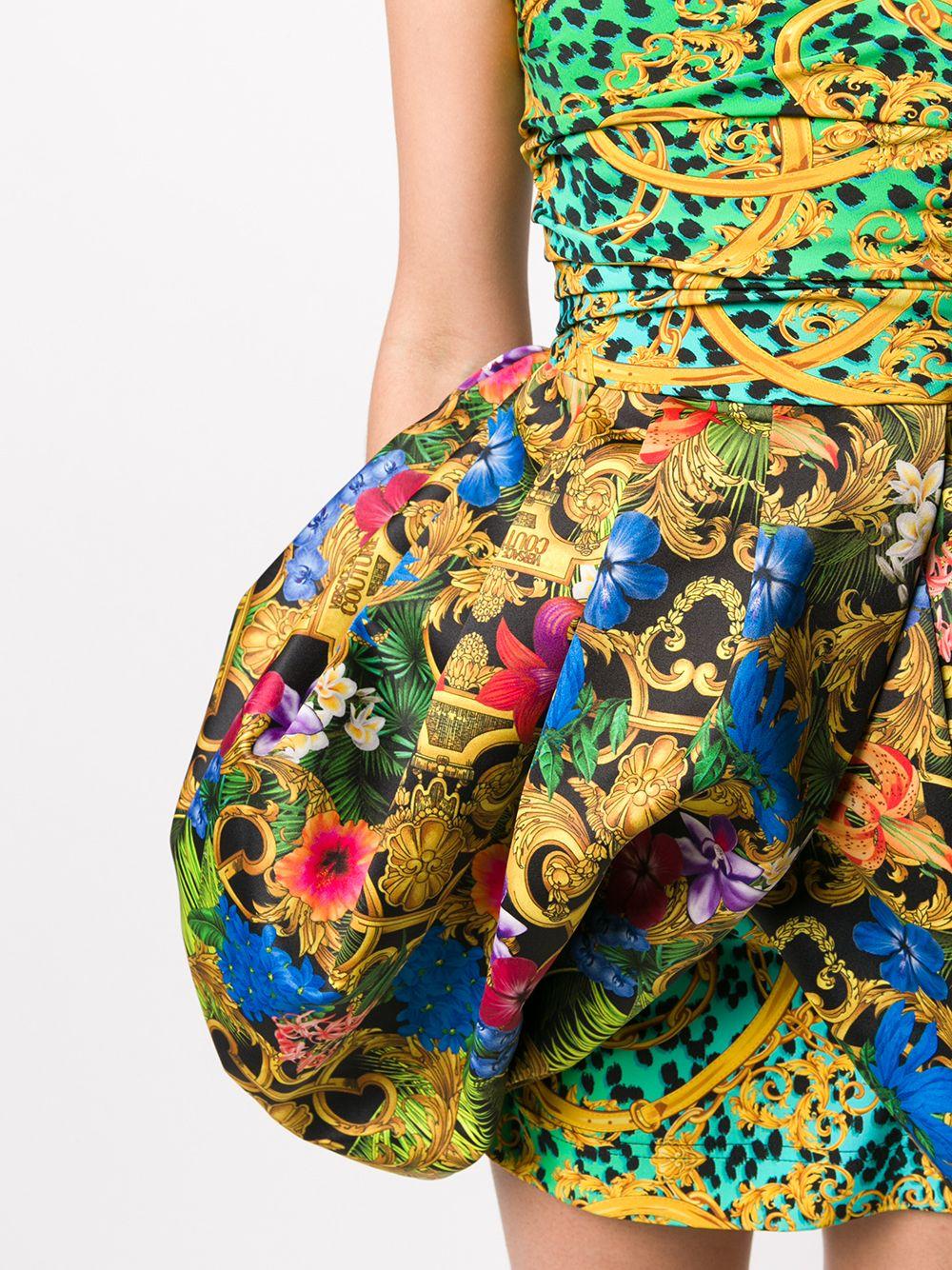 Abito con stampa barocca Versace Jeans Couture VERSACE JEANS COUTURE | Abito | D2HVA408S0647983