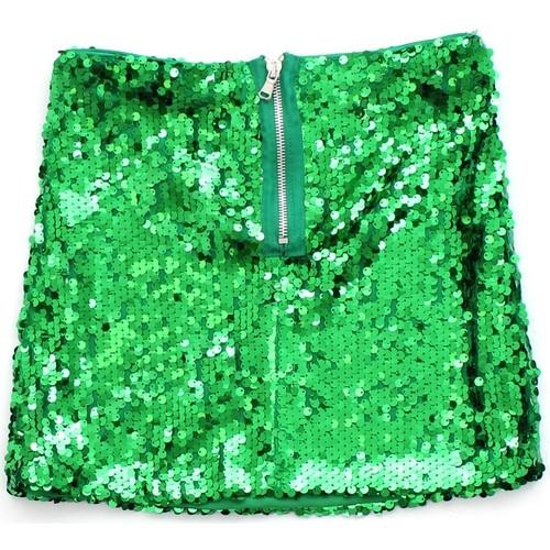 Gonna Paiette verde Vicolo bambina VICOLO   Gonna   G0246VERDE