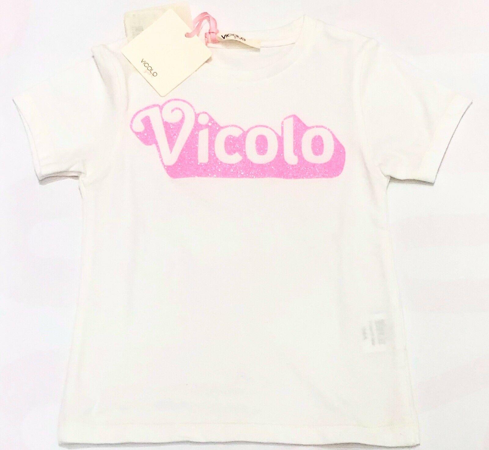 T-shirt Vicolo con stampa fuxia VICOLO | T-shirt | M0202BIANCO