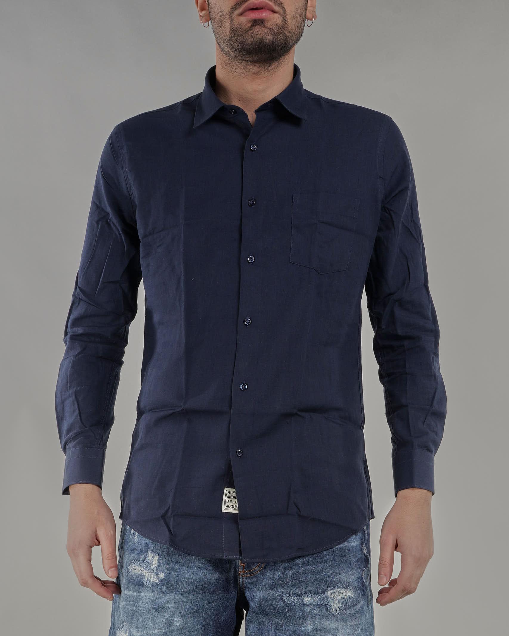 Camicia in lino Alessandro Dell'Acqua ALESSANDRO DELL'ACQUA | Camicia | AD4166PK012350