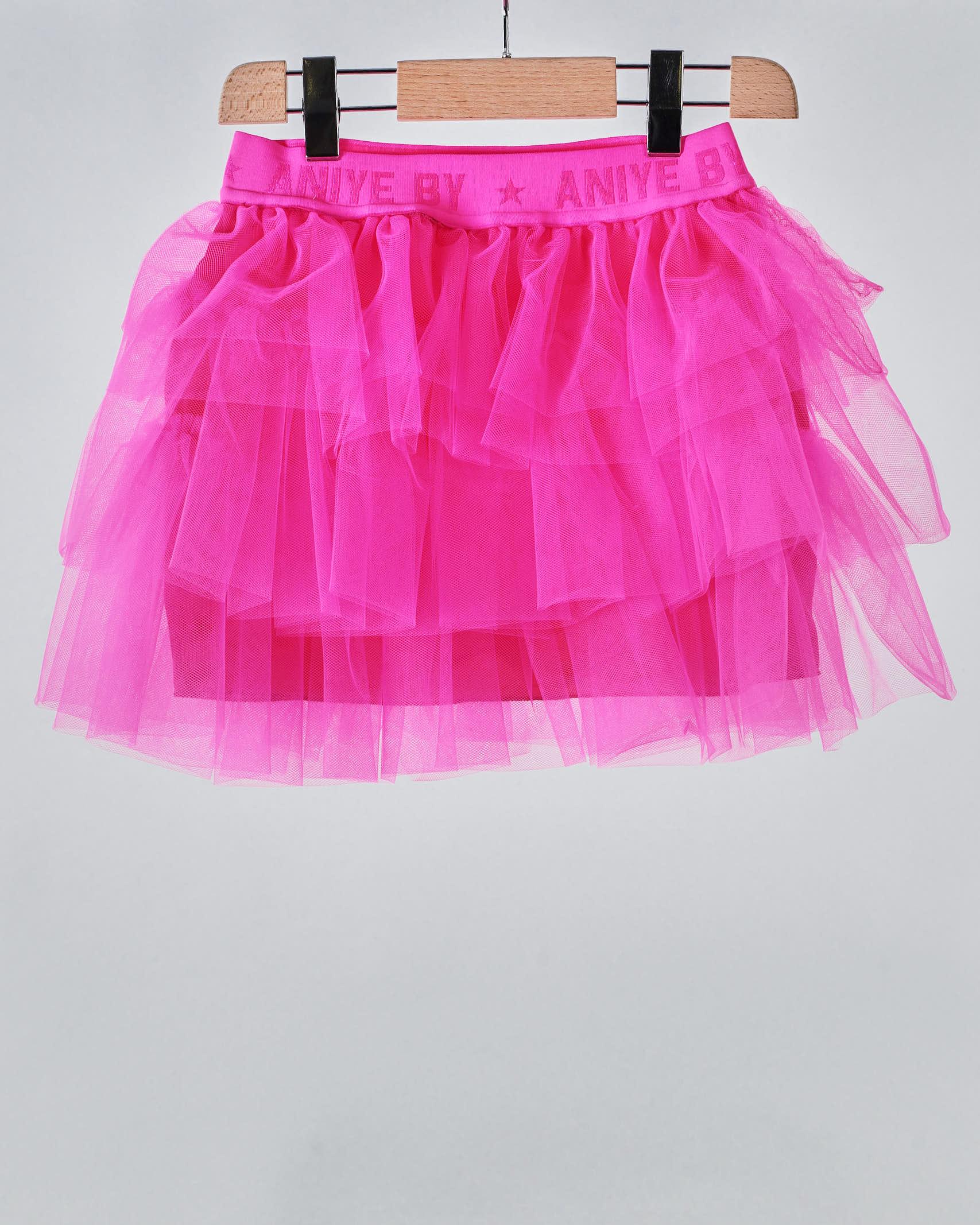Gonna in tulle con elastico logato Aniye By Girl ANIYE BY GIRL | Gonna | 115014675