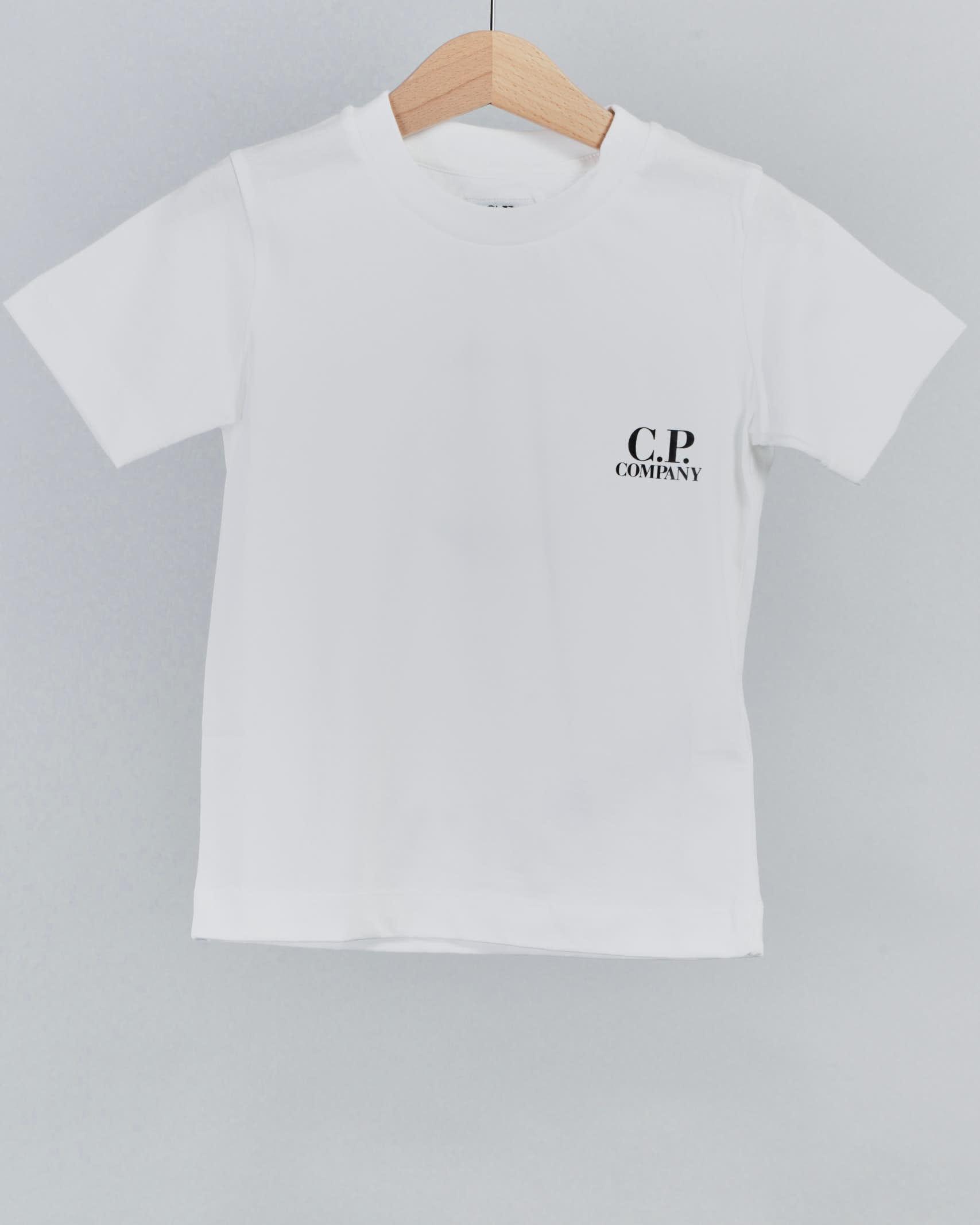 T-shirt 28/1 jersey Chest logo C.P. Company C.P. COMPANY | T-shirt | 10CKTS051A005792W103