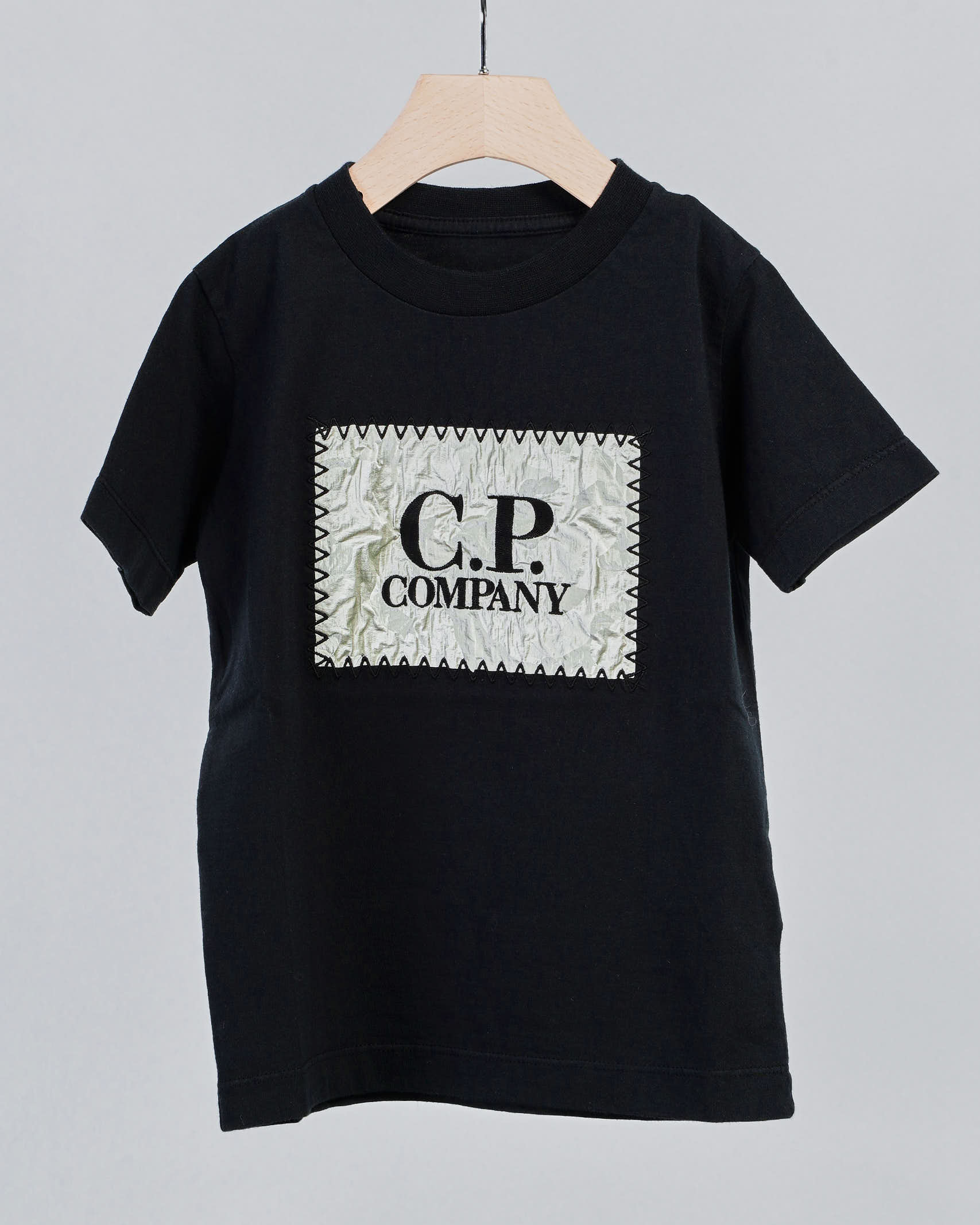 T-shirt con patch logo C.P. Company Kids C.P. COMPANY | T-shirt | 10CKTS075A006025G999