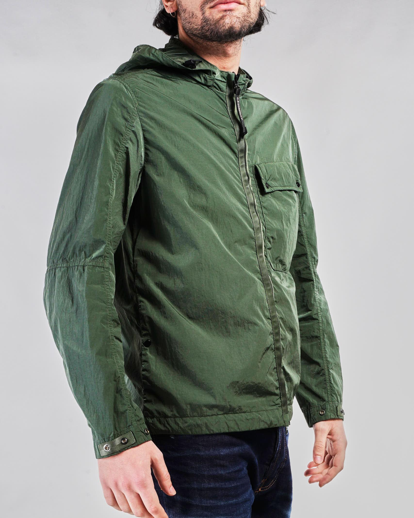 Giubbotto Chrome-R Mixed Garment Dyed Goggle Overshirt C.P. Company C.P. COMPANY | Giubbotto | 10CMOS026A005904M668