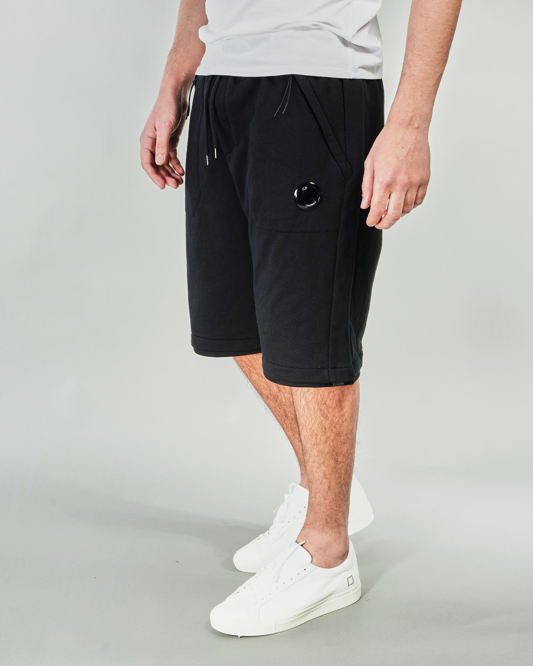 Bermuda Diagonal Raised Fleece C.P. Company C.P. COMPANY | Pantalone | 10CMSB129A005086W999