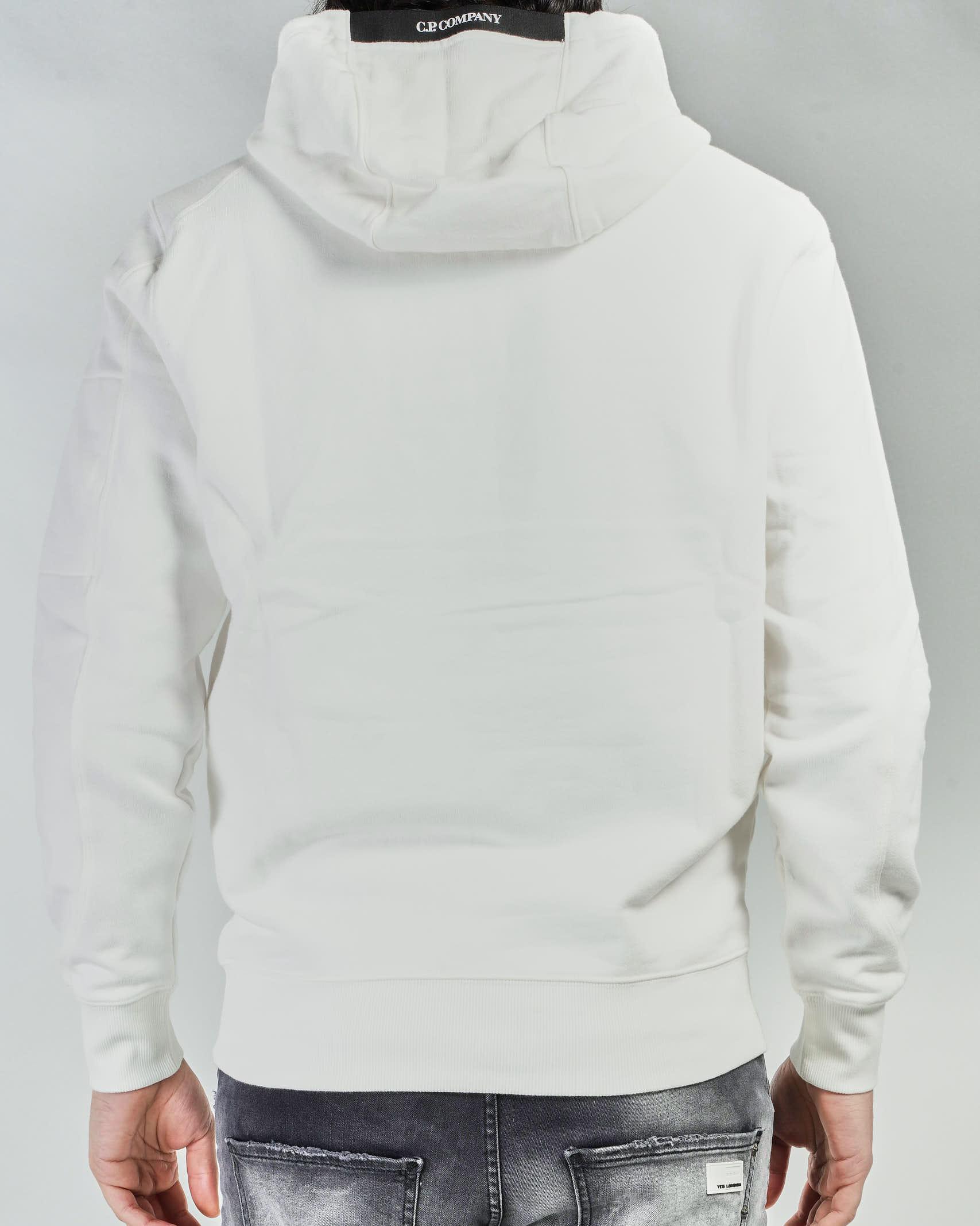 Felpa Diagona Raised Fleece Garment Dyed Hoodie C.P. Company C.P. COMPANY | Felpa | 10CMSS047A005086W103