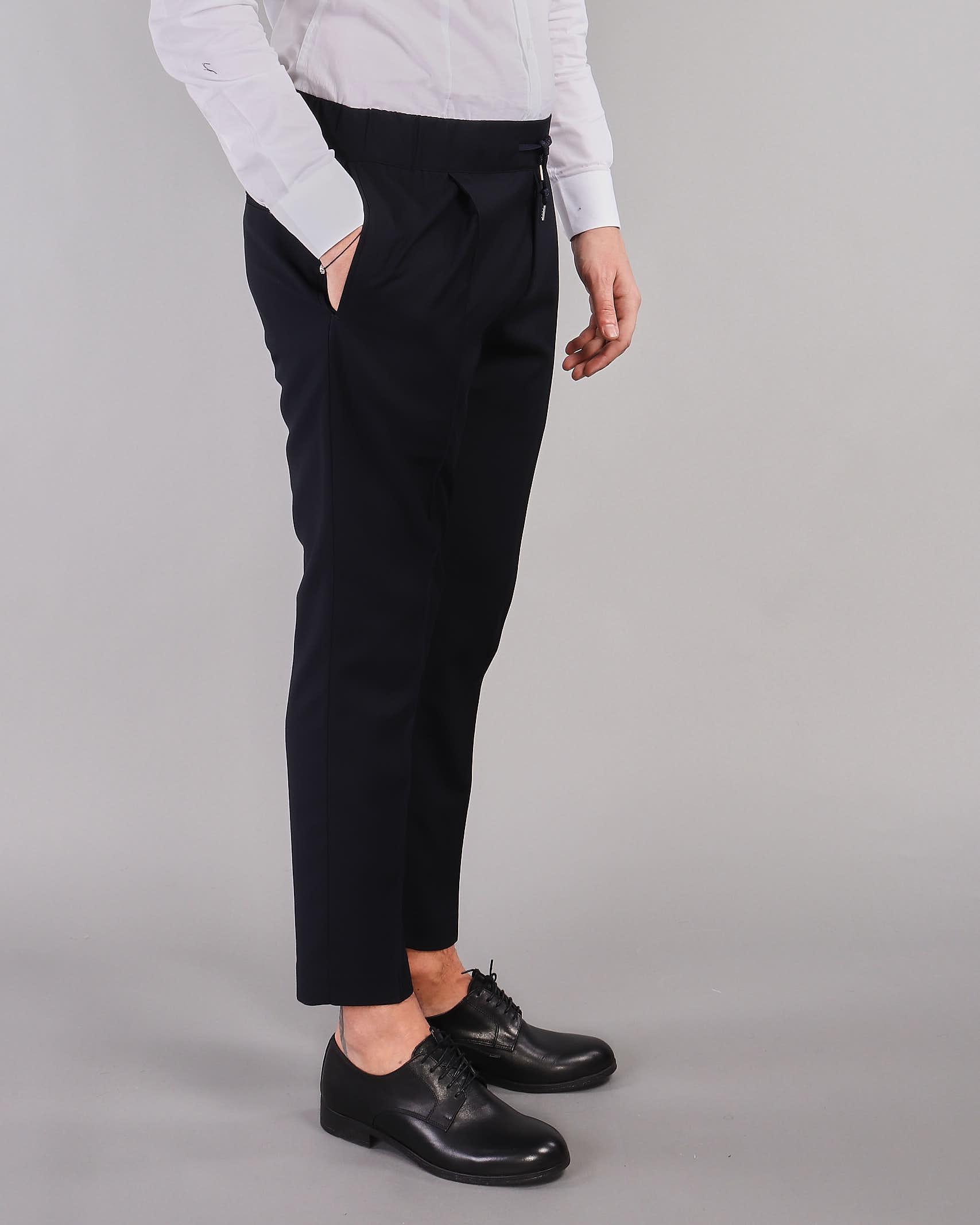 Pantalone con elastico Daniele Alessandrini DANIELE ALESSANDRINI | Pantalone | P3671N960423