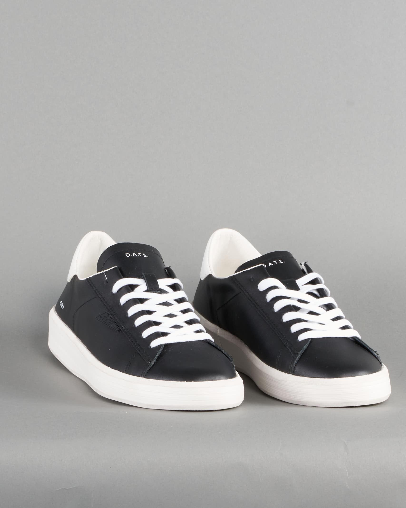 Sneaker Ace Calf Black DATE DATE | Sneakers | M341ACCABKNERO
