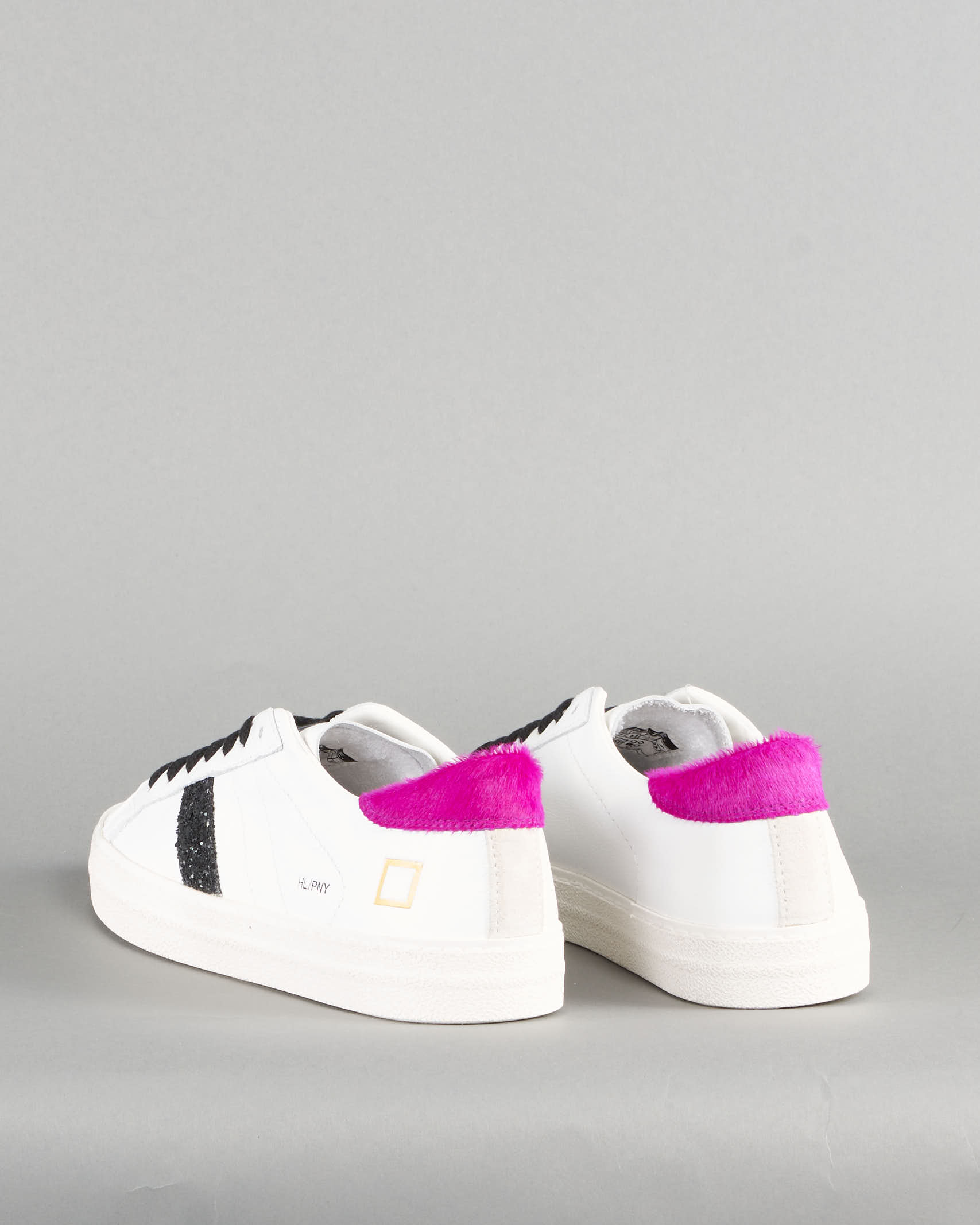 Snekaer Hill Low Pony White Fuxia DATE DATE | Sneakers | W341HLPNWFBIANCO
