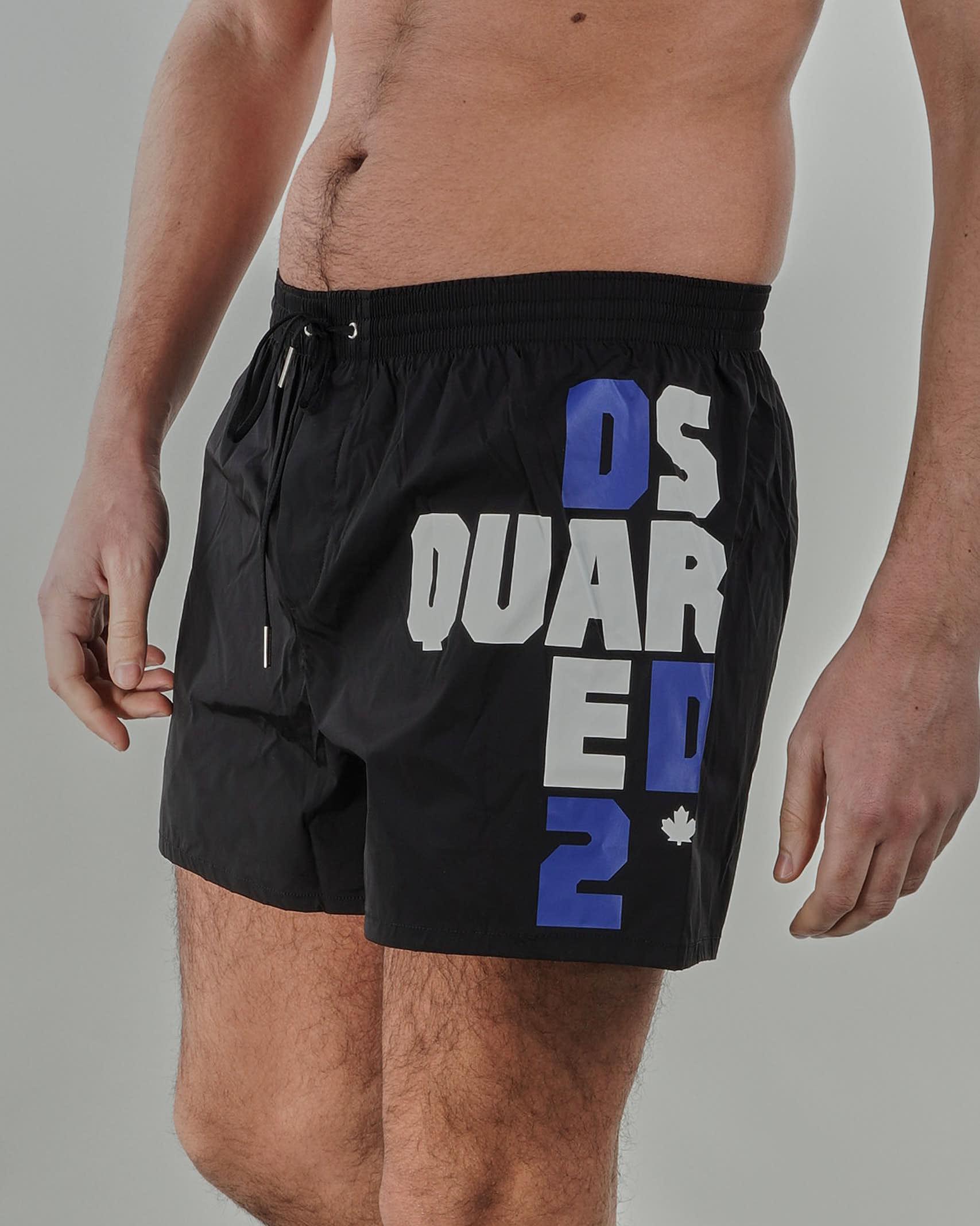 Costume con stampa logo Dsquared DSQUARED | Costume | D7B8P36101