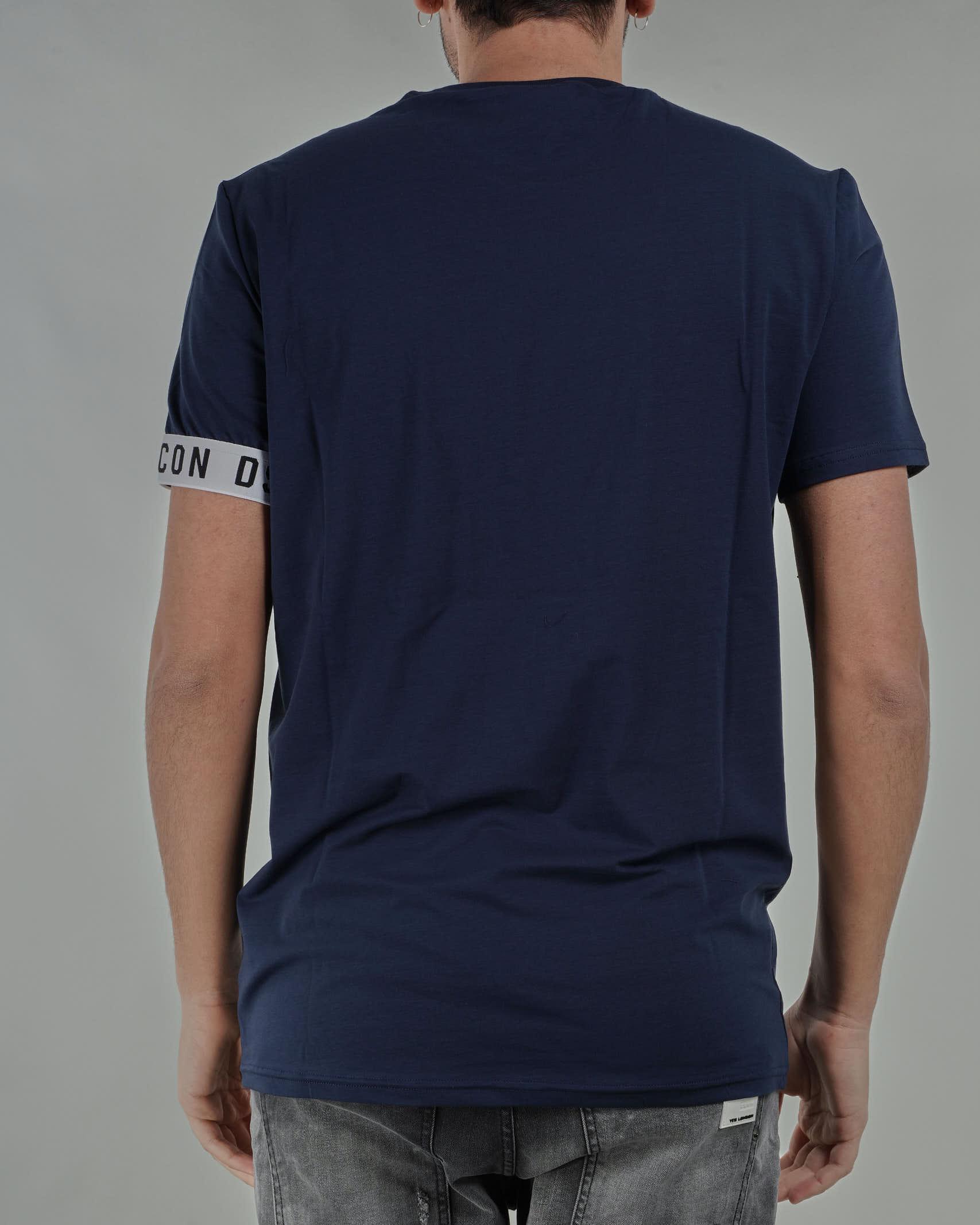 T-shirt con logo sulla manica DSQ2 Dsquared DSQUARED | T-shirt | D9M3S3450402